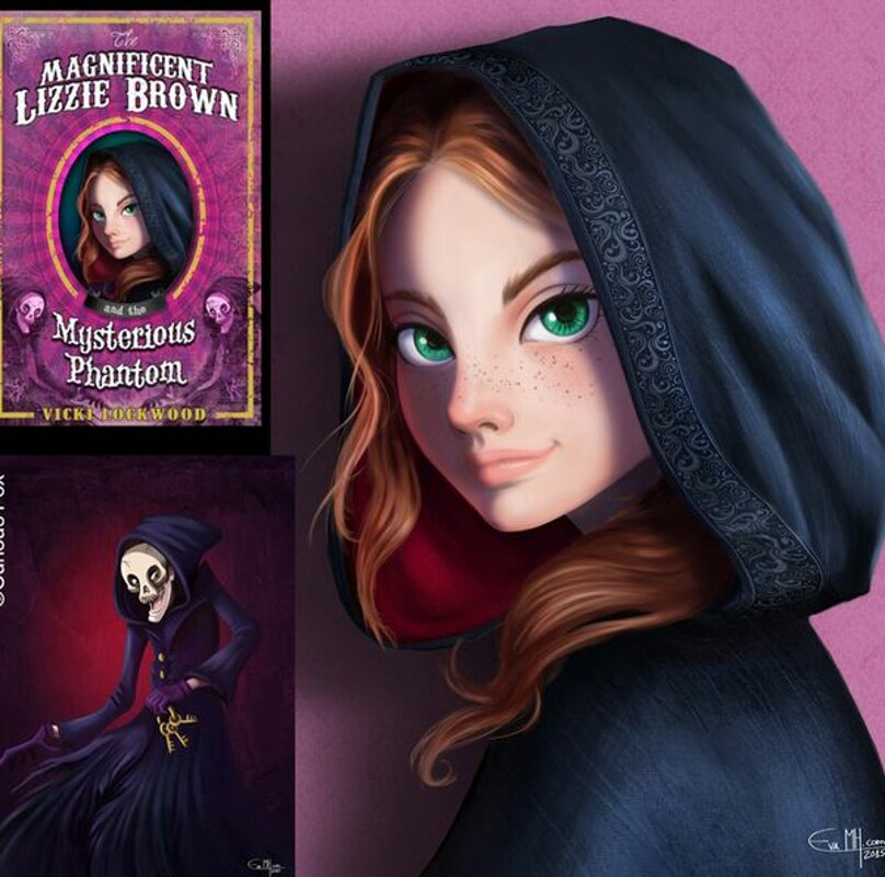 The Magnificent Lizzie Brown series by ©CuriousFox Books