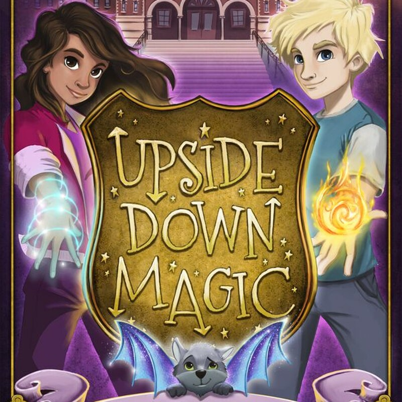 """Upside Down Magic"" by ©Scholastic UK"