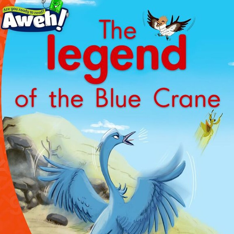 """The legend of the Blue Crane"" by ©OUP Southern Africa"