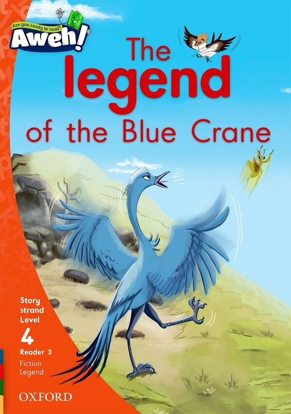 """The legend of the Blue Crane""