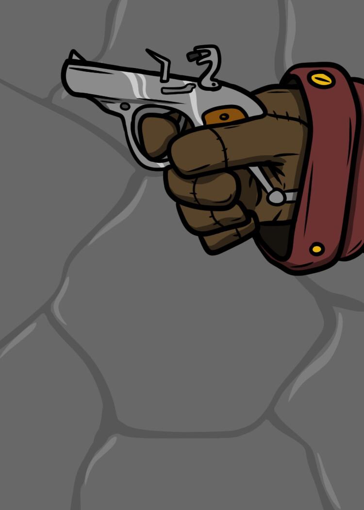"""Gadget """"Hidden Pistol"""""""