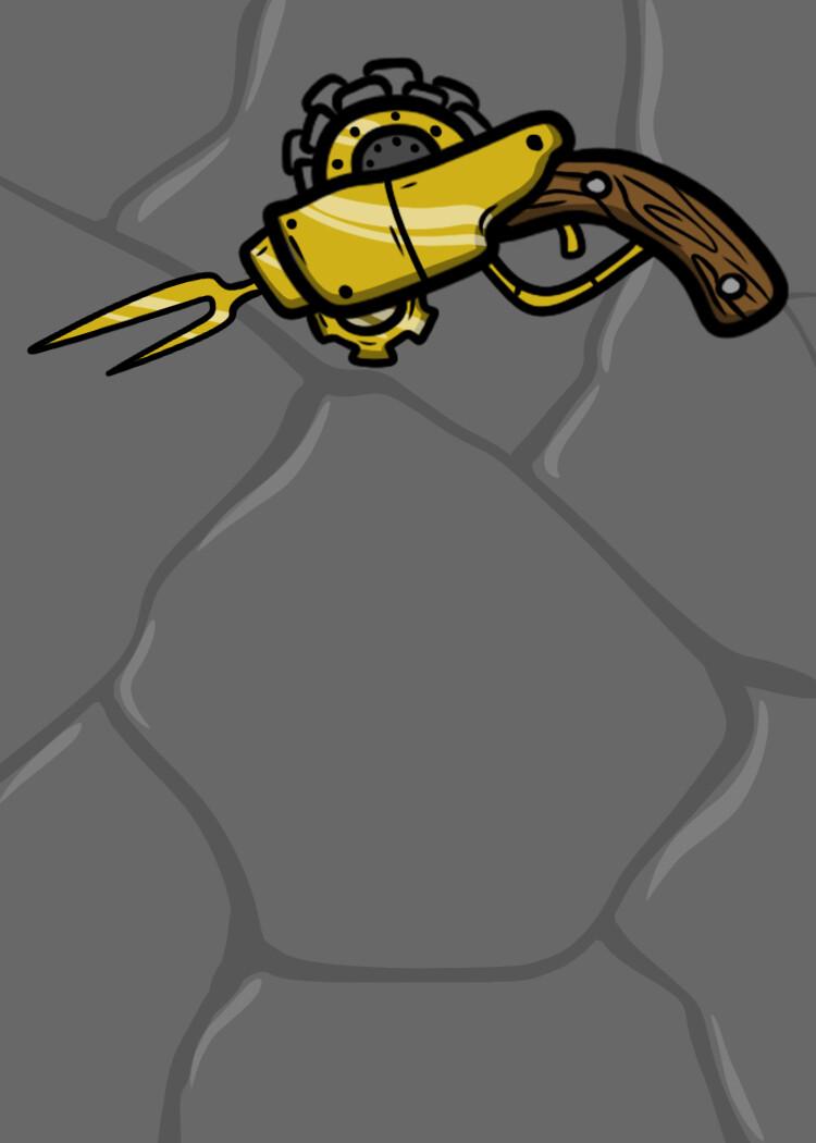 """Gadget """"Golden Spearshot"""""""