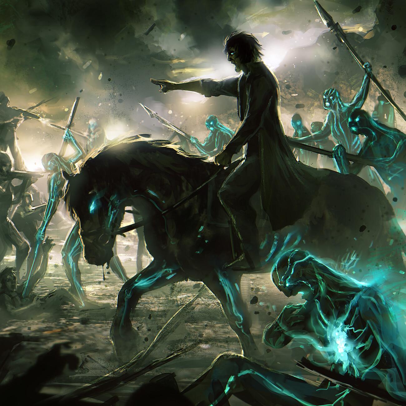 Endless War-Dark Eternal Future | Booklet Artwork
