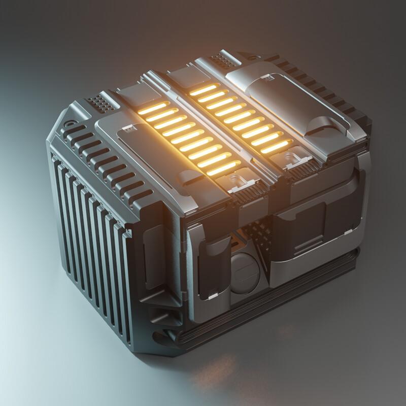 Sci-fi device