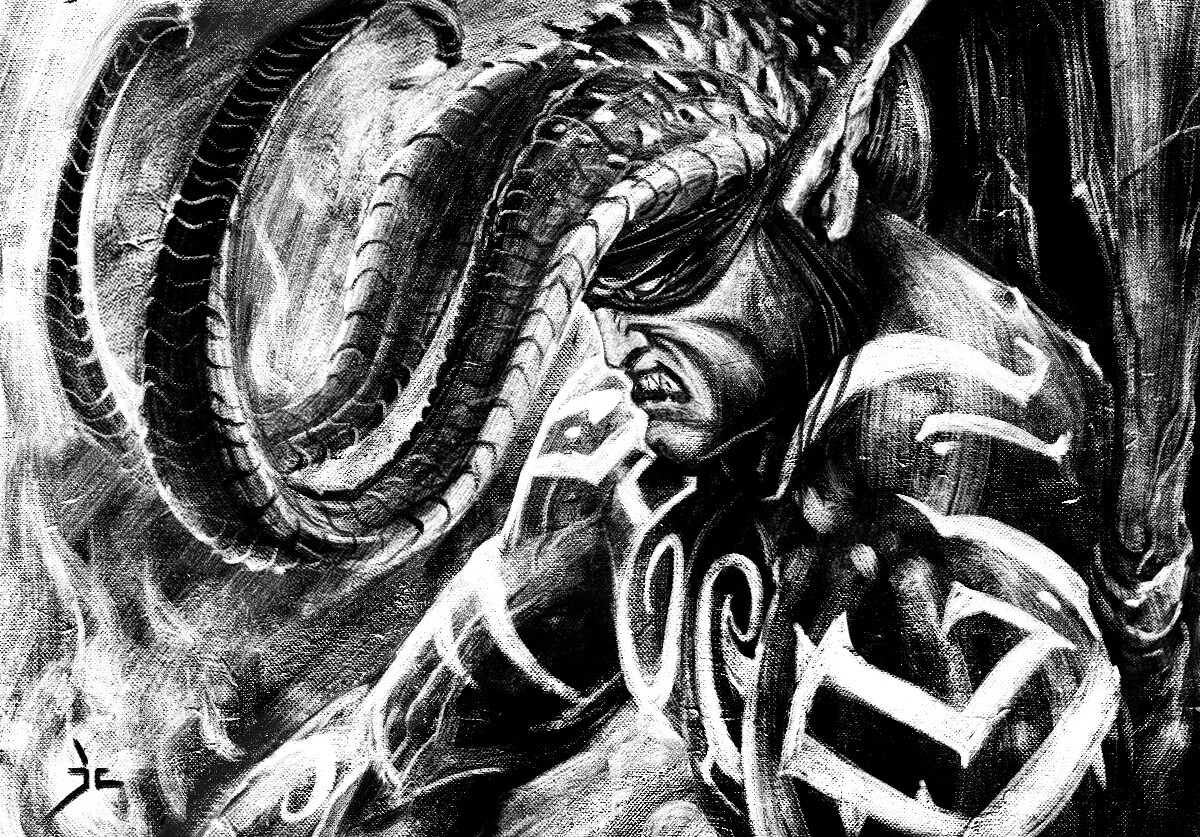 Illidan Stormrage  sketch