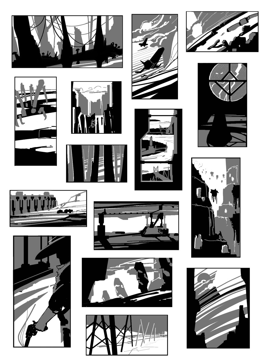 Composition thumbnails