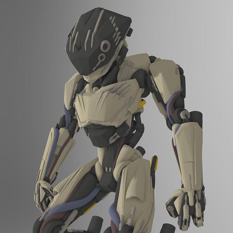 Robot VR Concept