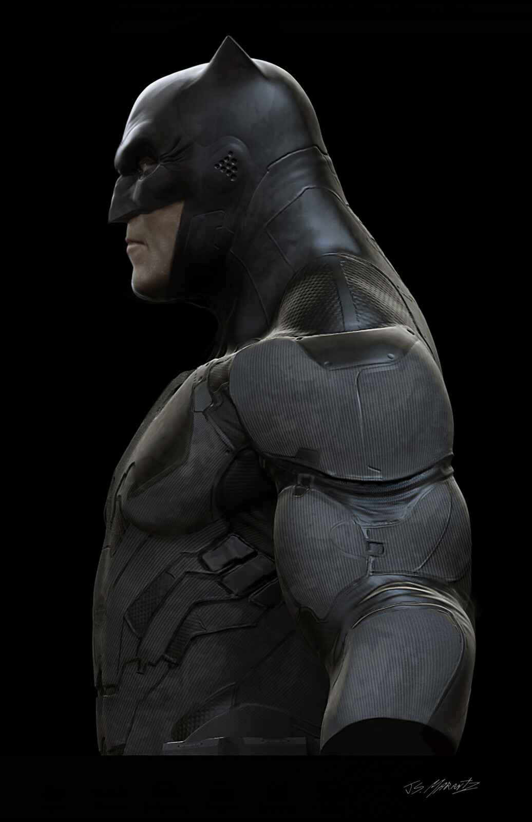 Early Batman Designs For Batman vs. Superman