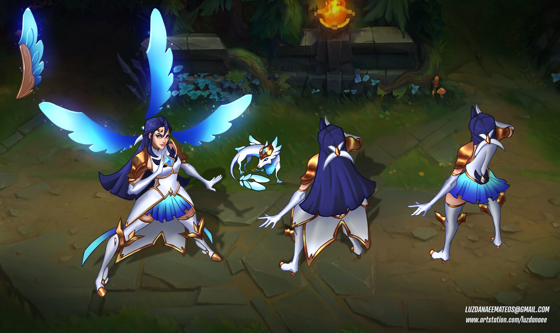 Star Guardian Irelia in the Rift