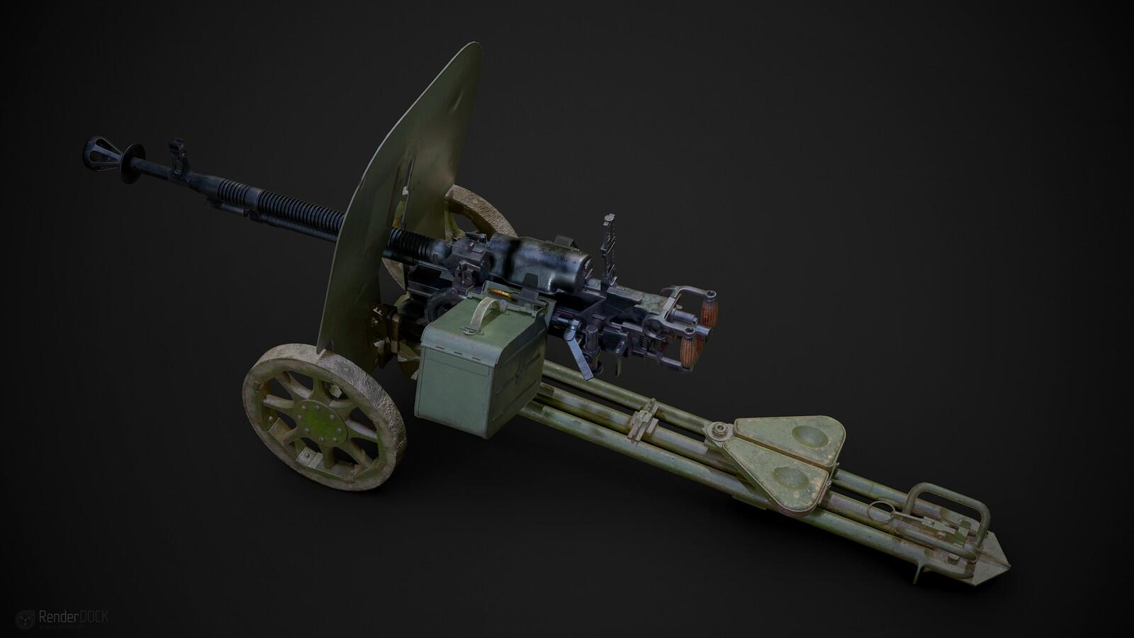 WWII .50 Cal classic (Soviet DShK)