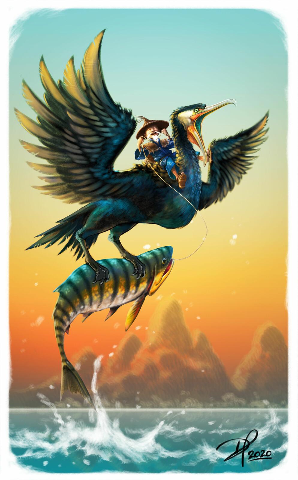 Cormorant Fisherman
