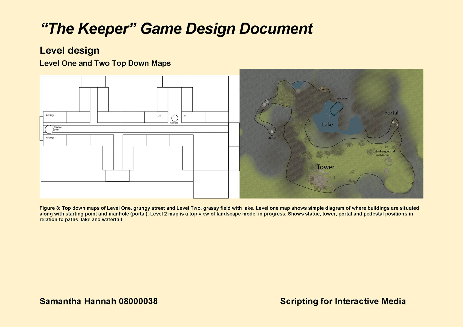 Game Design Document Page 7