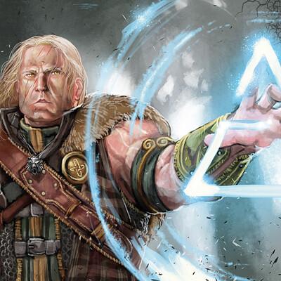 Frost llamzon oc witcher