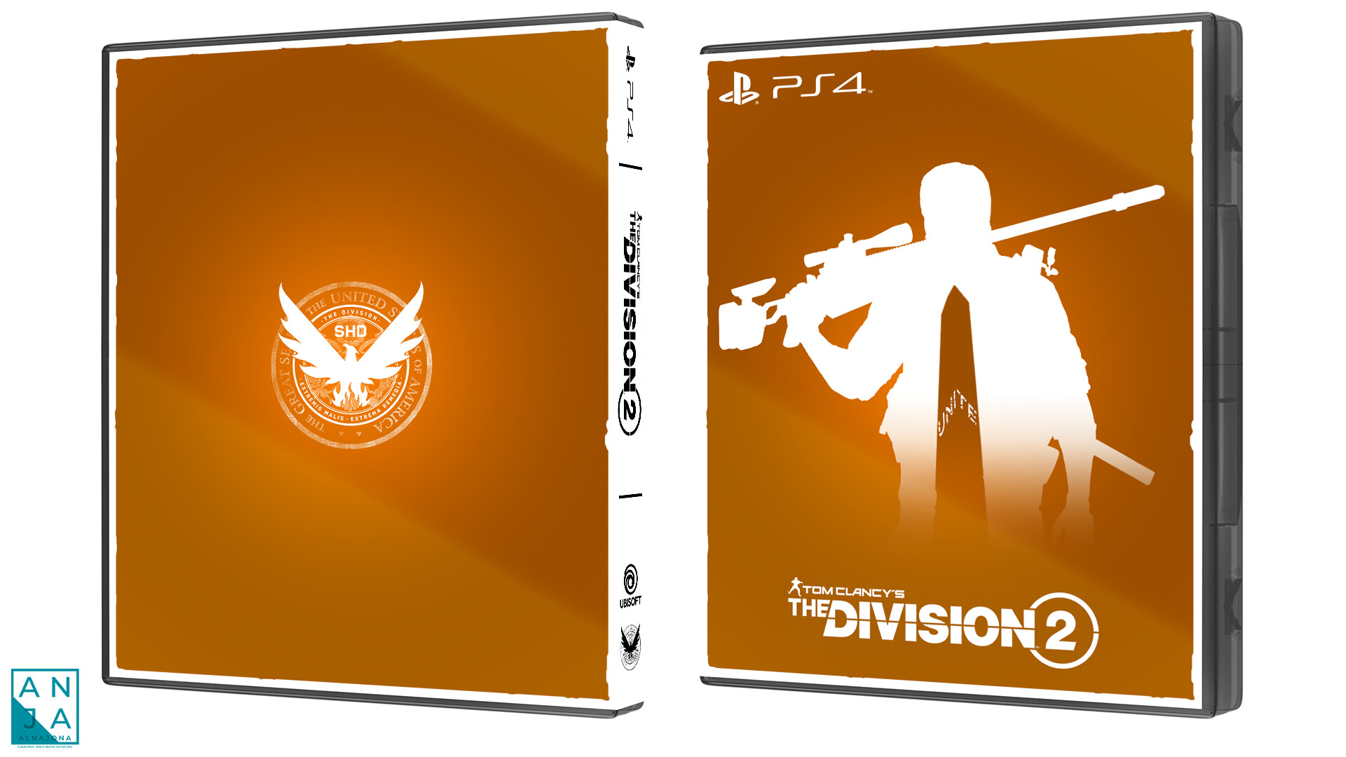 The Division 2 - Only on PlayStation Inspired Cover