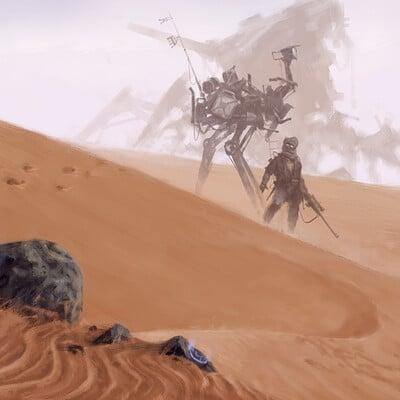 Jakub rozalski gunter desert 01s