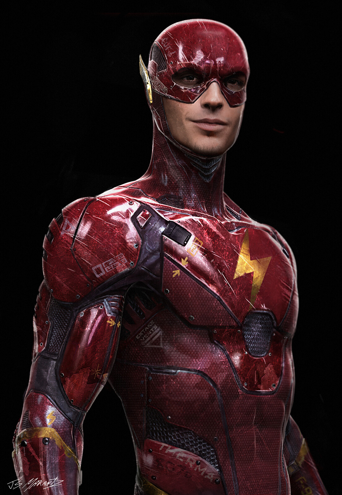 Flash Concept art For BvS and Justice League