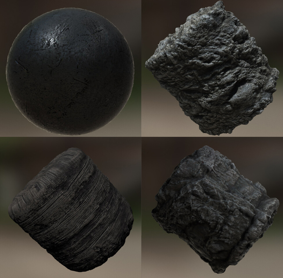 Creating some basic materials in Materialize