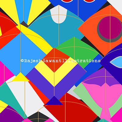 Rajesh r sawant kites crop