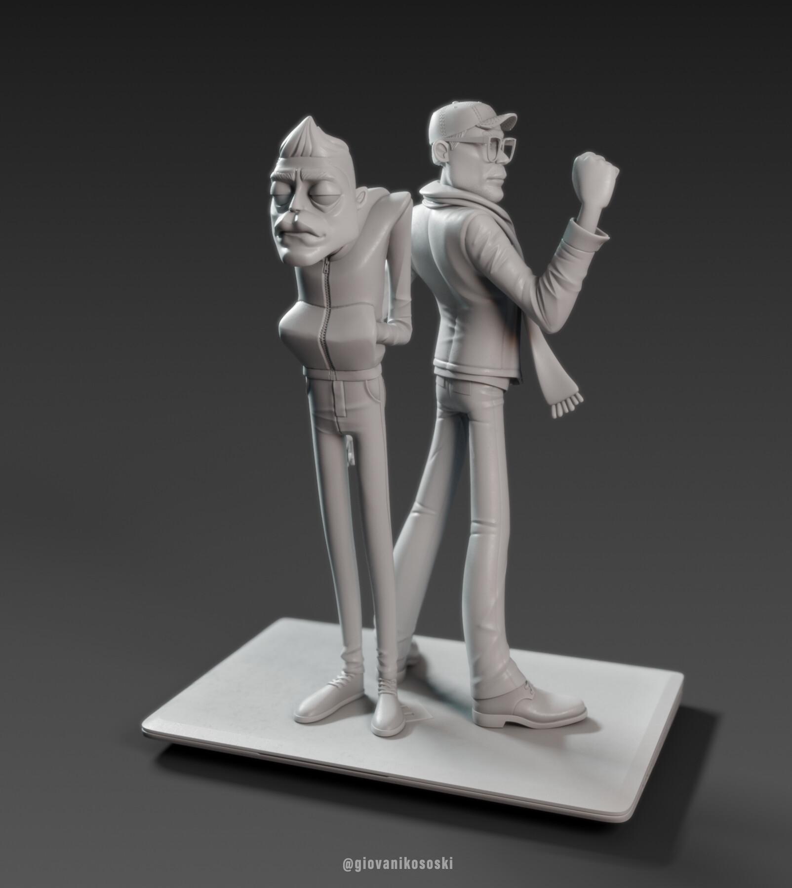 Giovani kososki mrobot clay 01