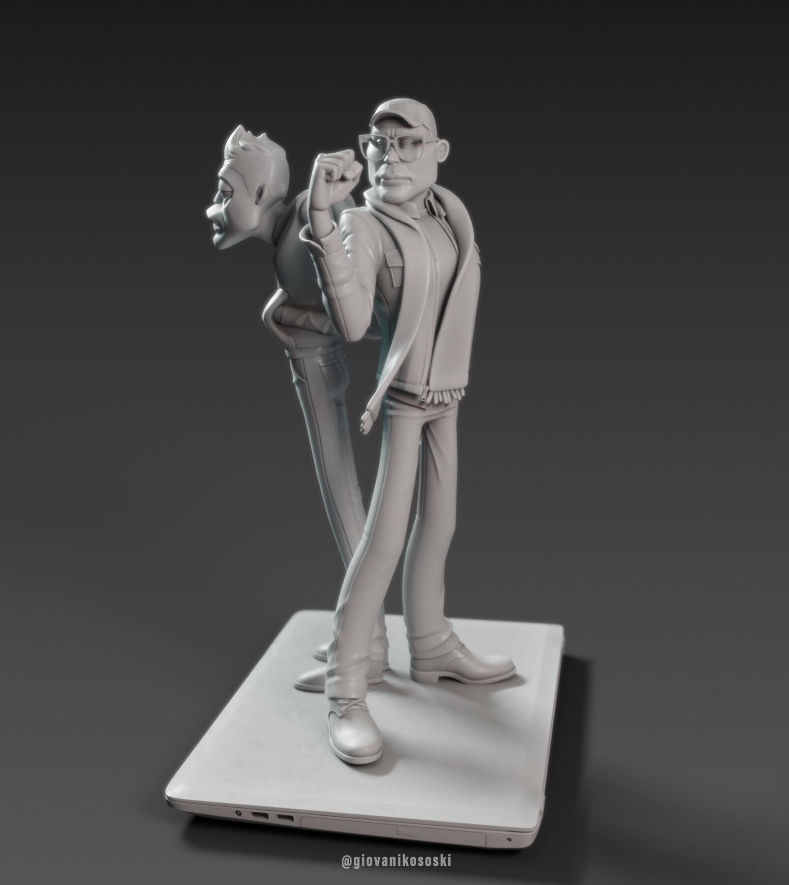 Giovani kososki mrobot clay 02