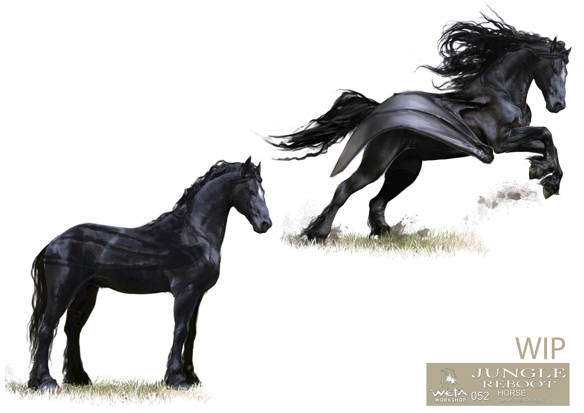 Weta workshop design studio 052 jr horse transformation 01 wip tth
