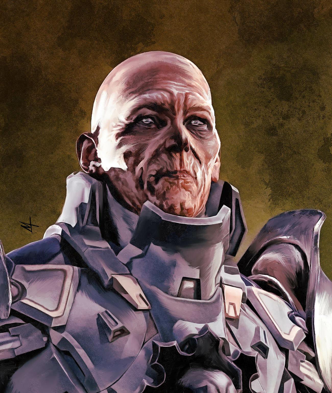Concept Soldier Close Up
