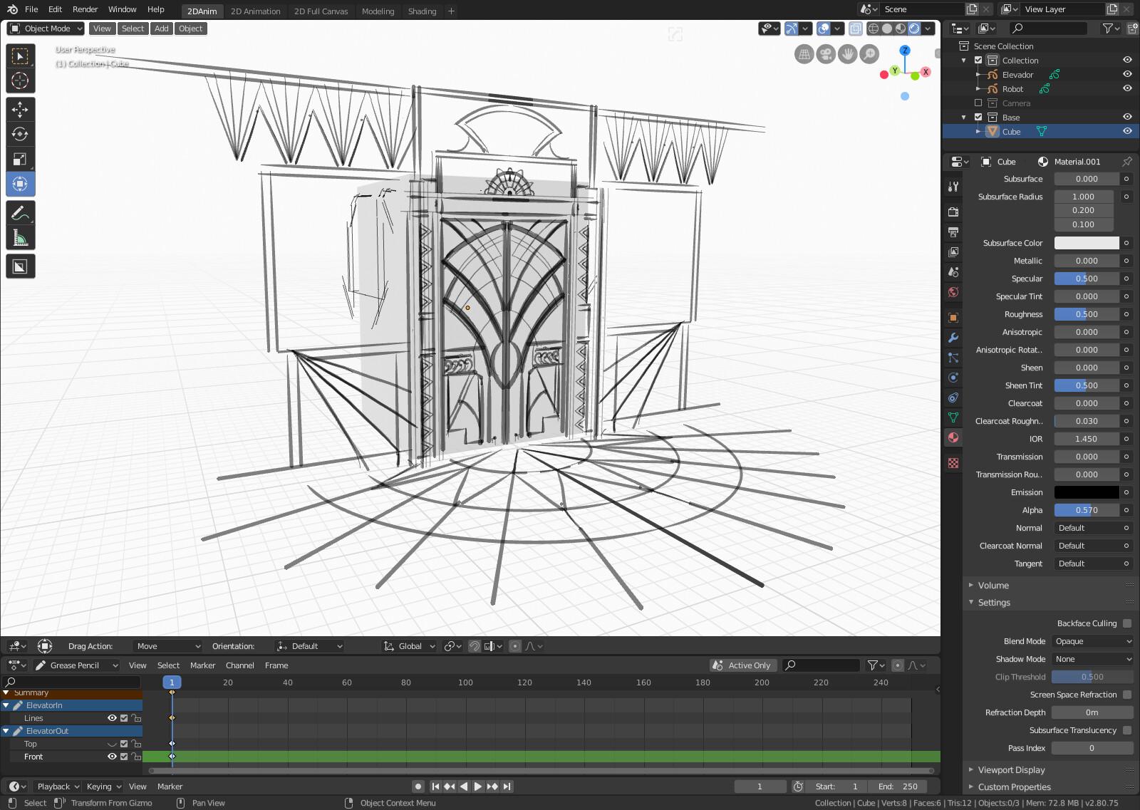 Blender Concept Test