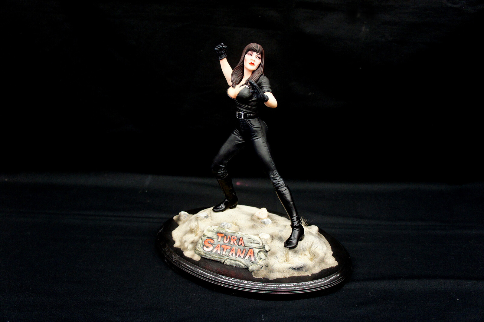 Tura Satana Art Statue