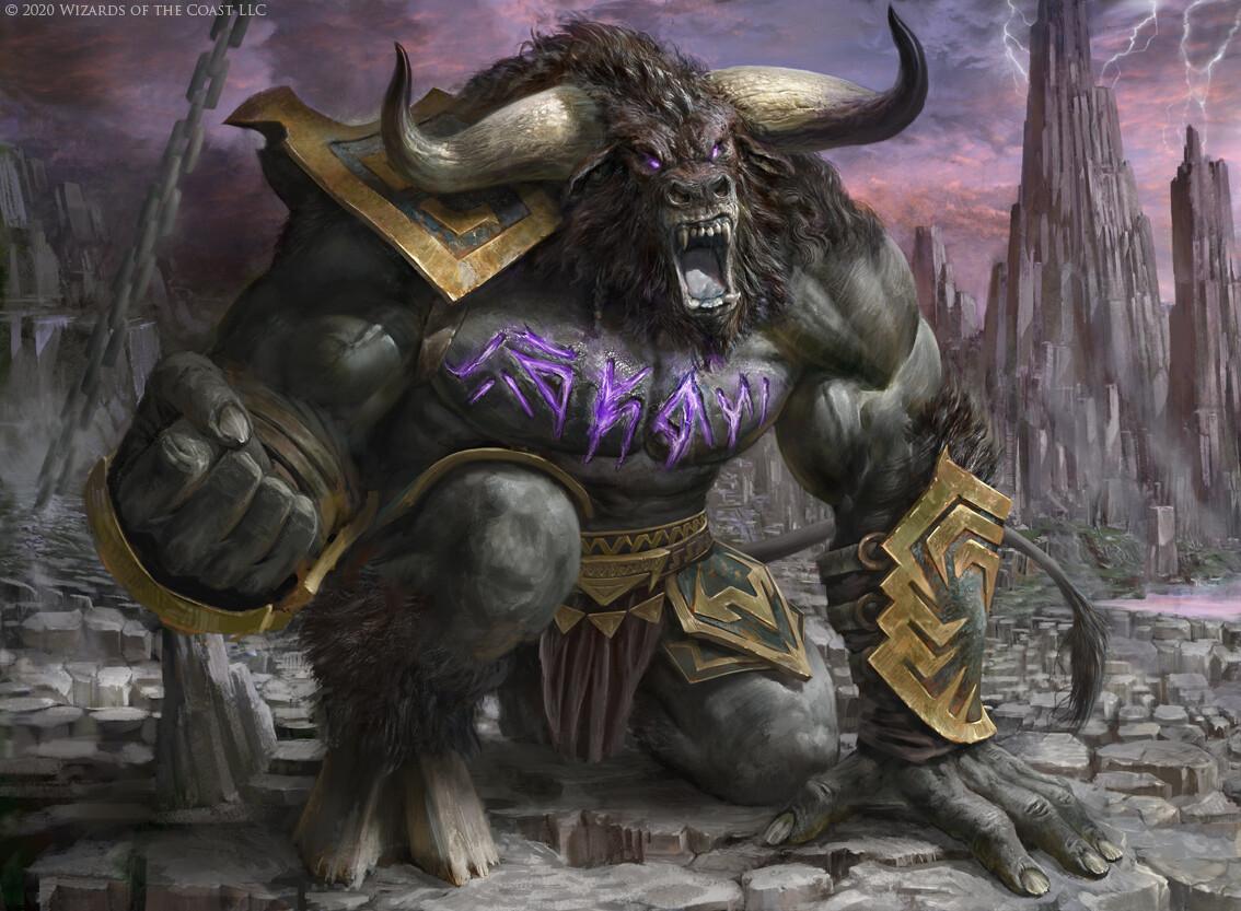 Minotaur Berserker
