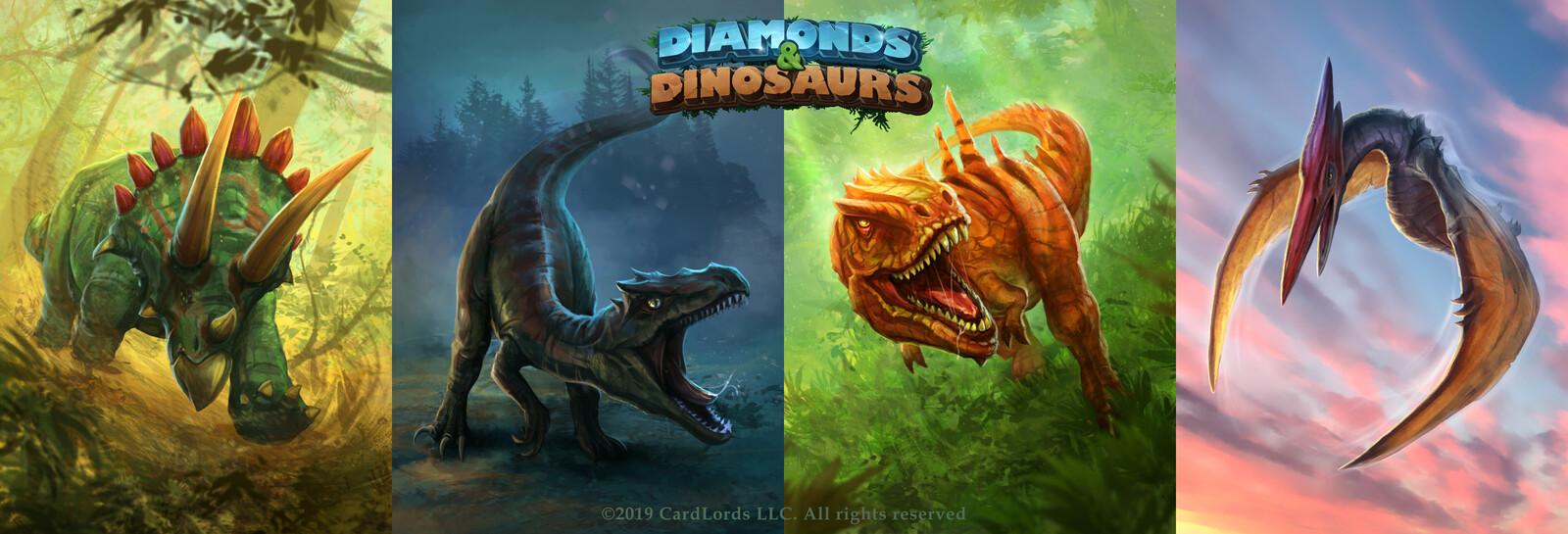 Artworks for Diamonds & Dinosaurs.