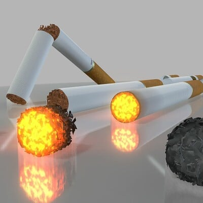 Dennis haupt modular cigarettes modeled and textured by 3dhaupt in blender 2 81a 5