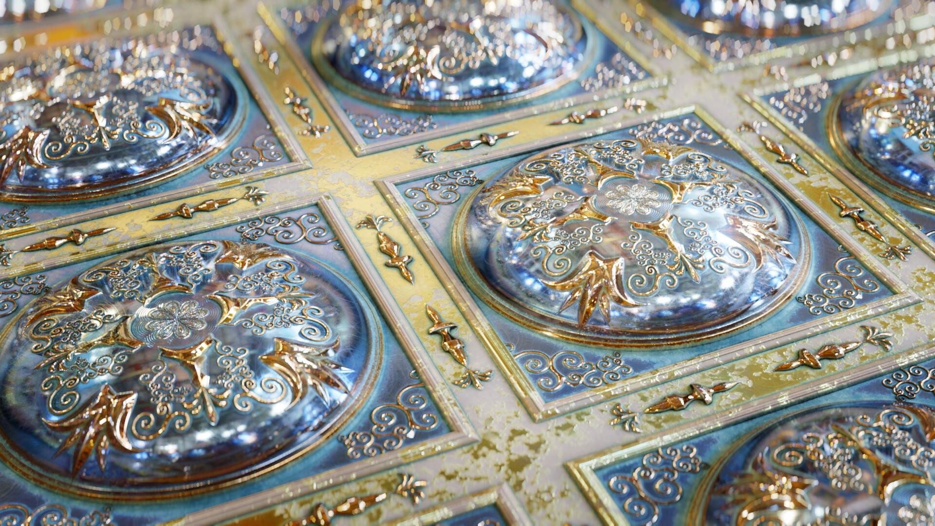 Ornamental Ceiling Tiles