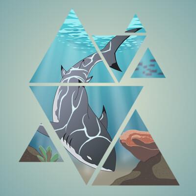 Masato lin shark wallpaper 1