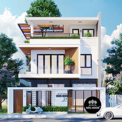 Neohouse architecture thiet ke biet thu cao cap sang trong 2