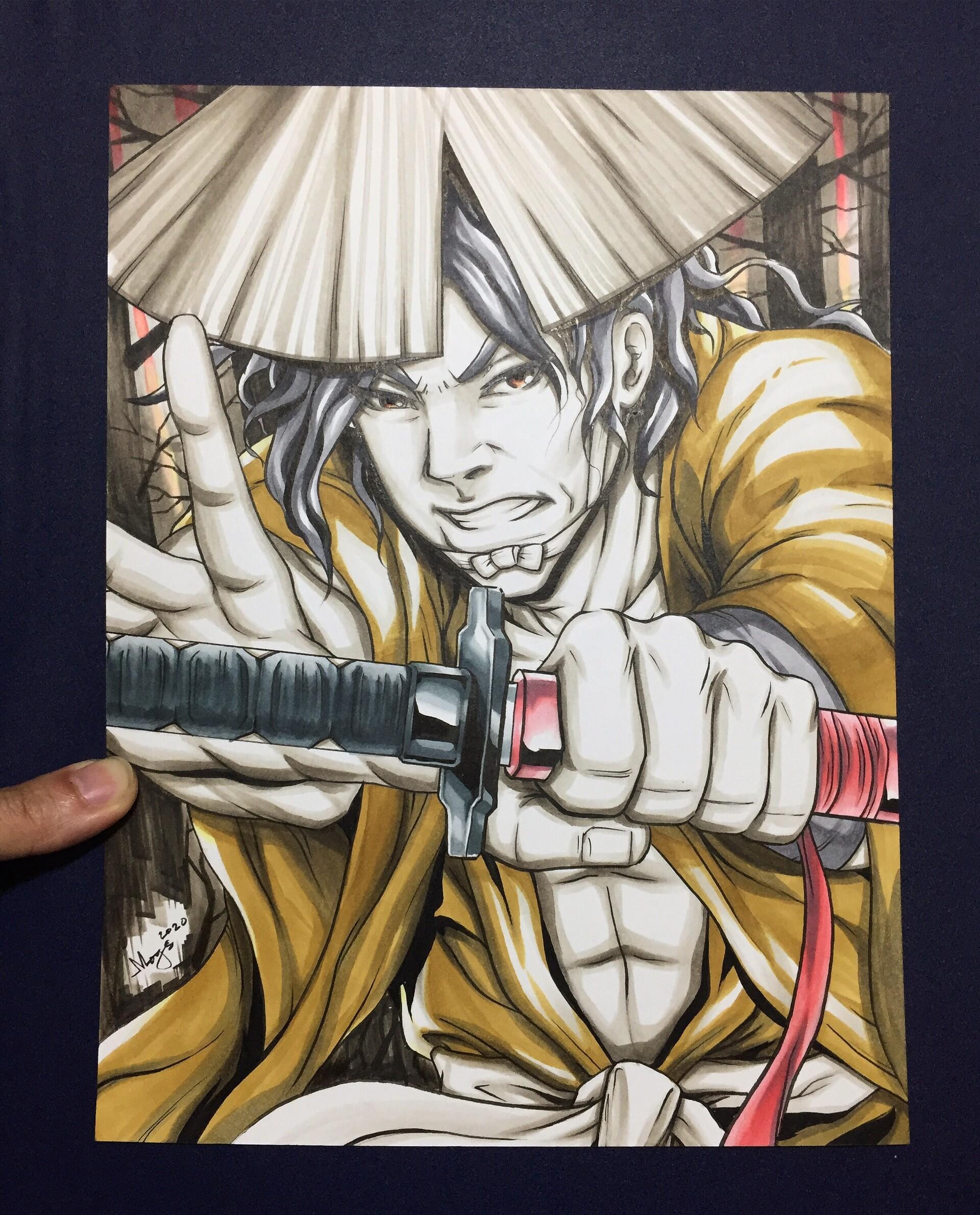 Artstation Jubei Ninja Scroll Gimo Lanot