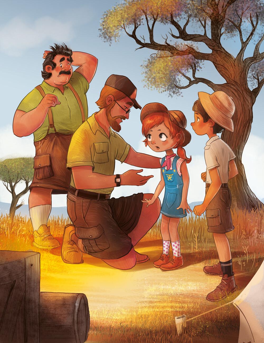 #ilustracjadladzieci #polishillustrator #illustration #childrenillustration