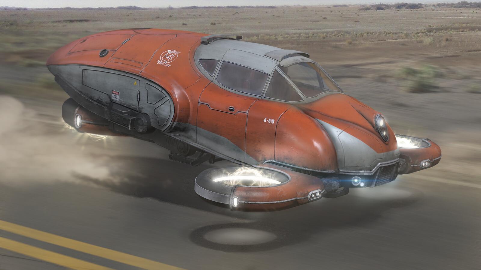 Sci-FI Hovercraft
