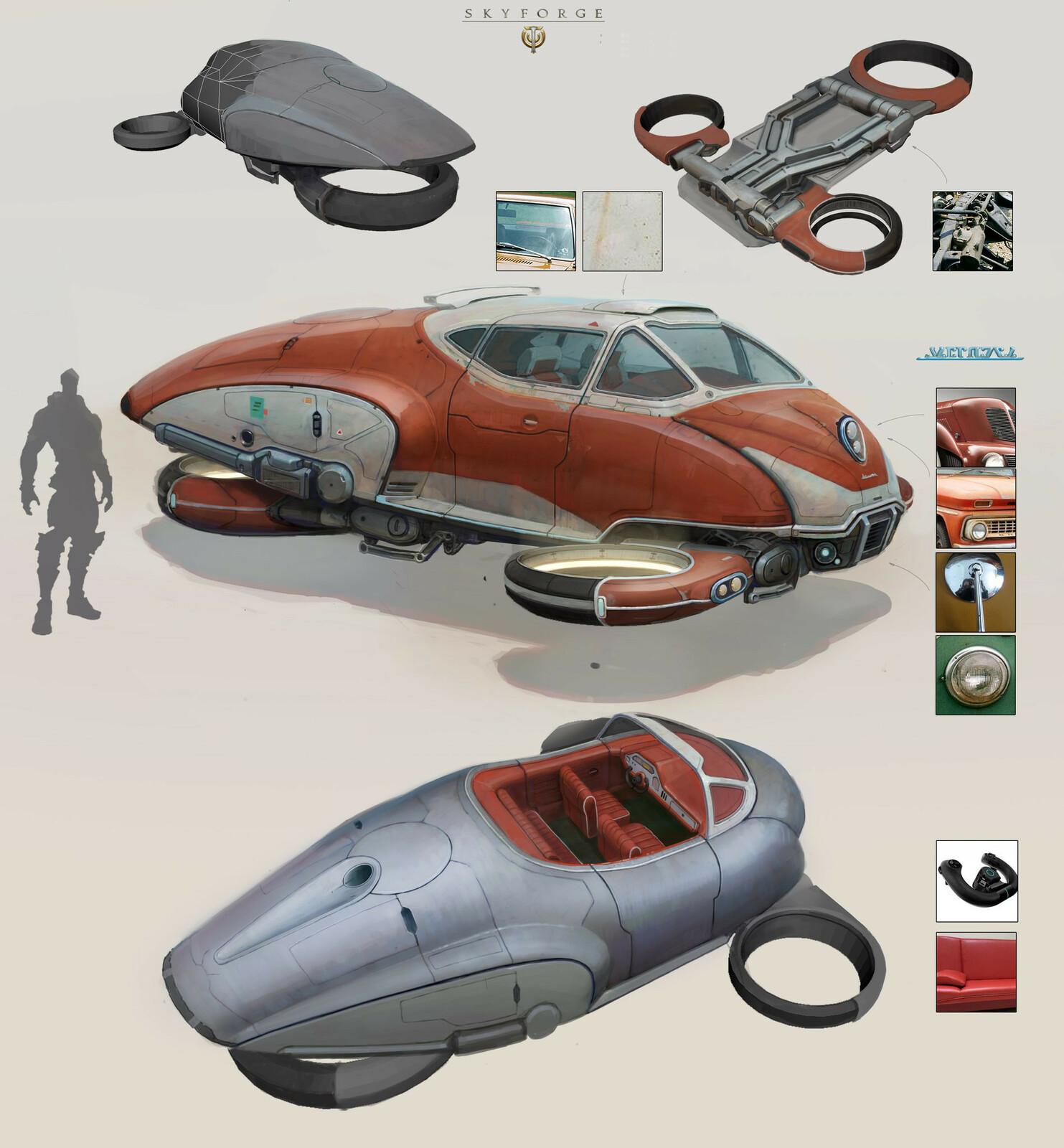 Ivan Rastrigin's concept