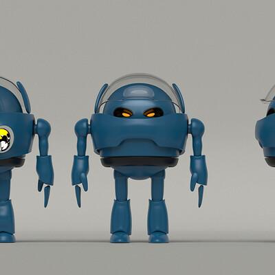 Adolfo aliaga bud the robot 3vistas