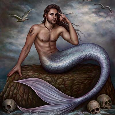Dimitris karakousis scary merman 2