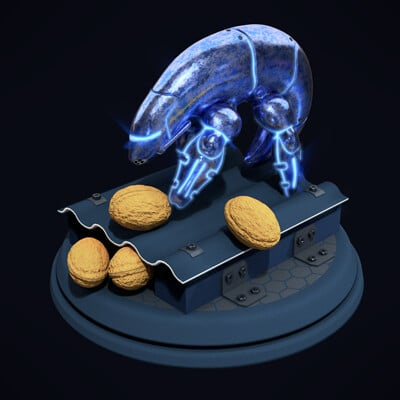 Steven lp shrimp robot 2020