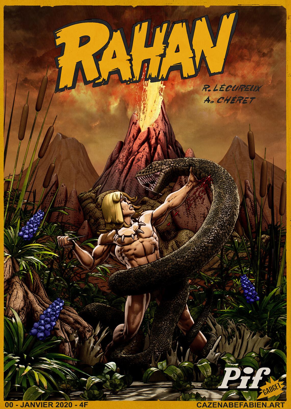 Rahan - Fan art