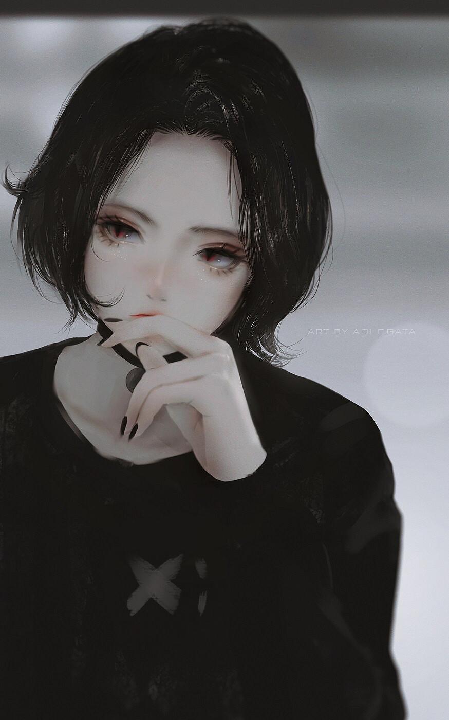 Artstation Doomer Girl Aoi Ogata