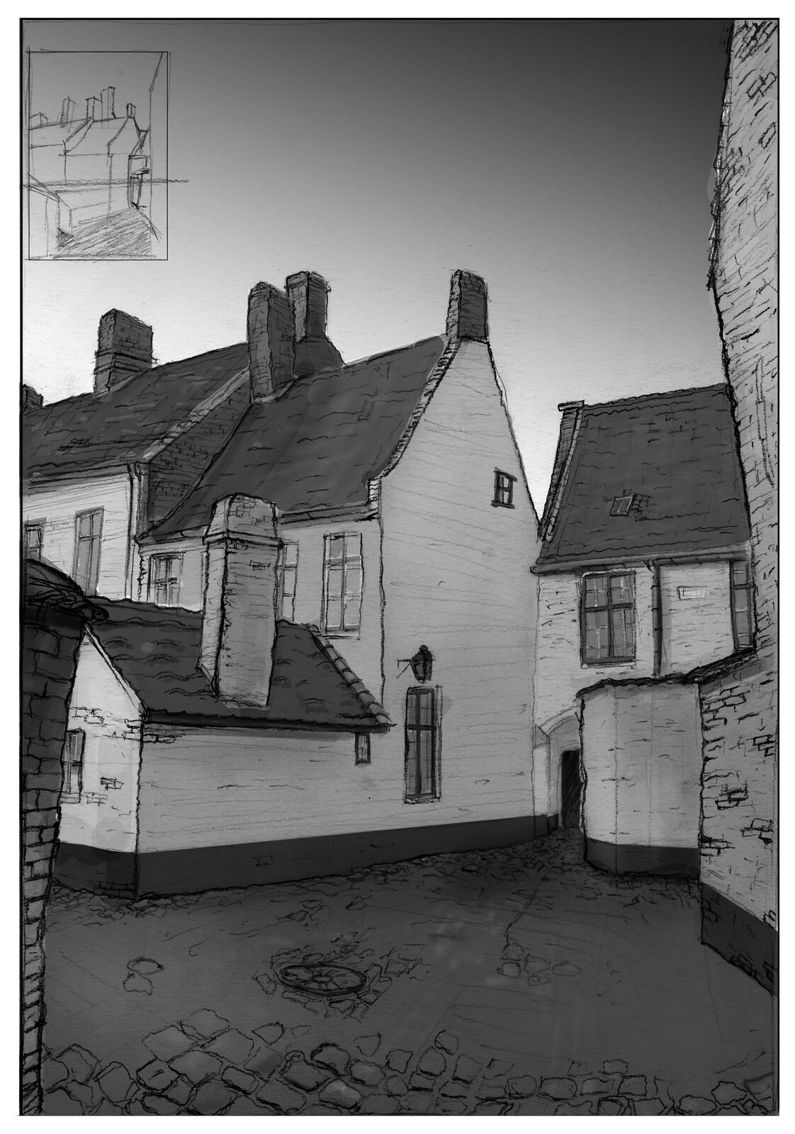 Sketchingtrip 2017