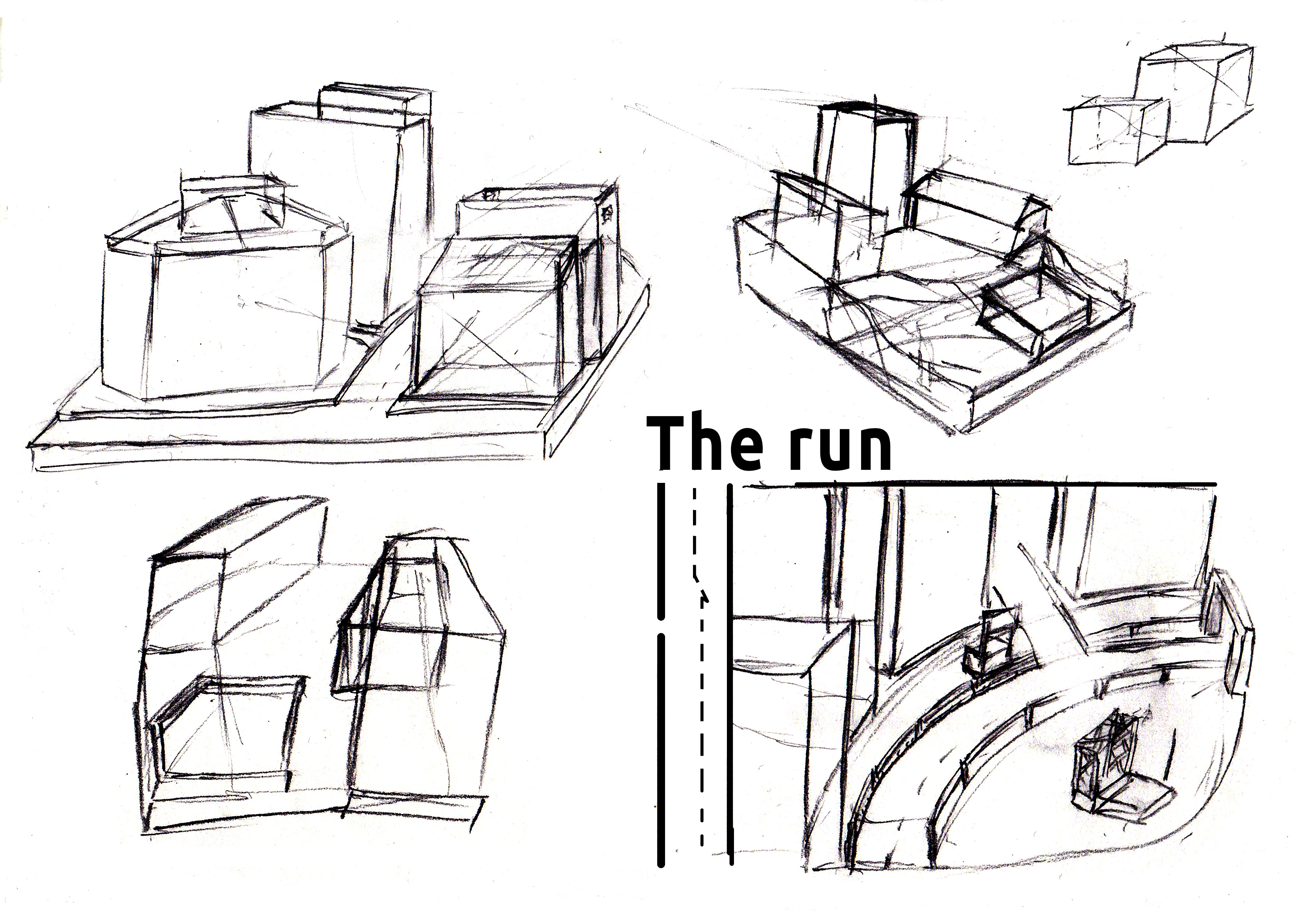 Idea - the run (more modern city)