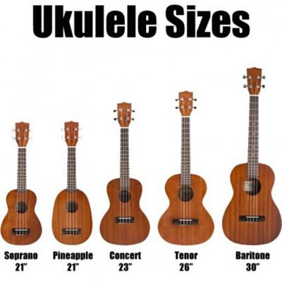 David blomo ukulele sizes