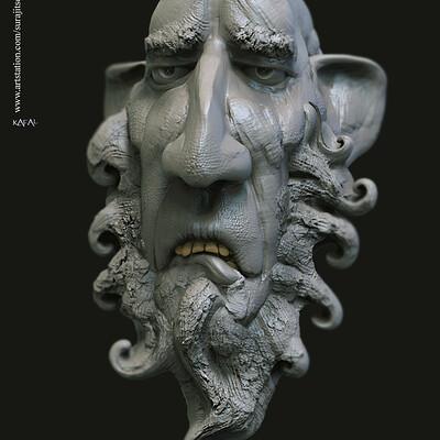 Surajit sen kafal digital sculpture surajitsen jan2020s