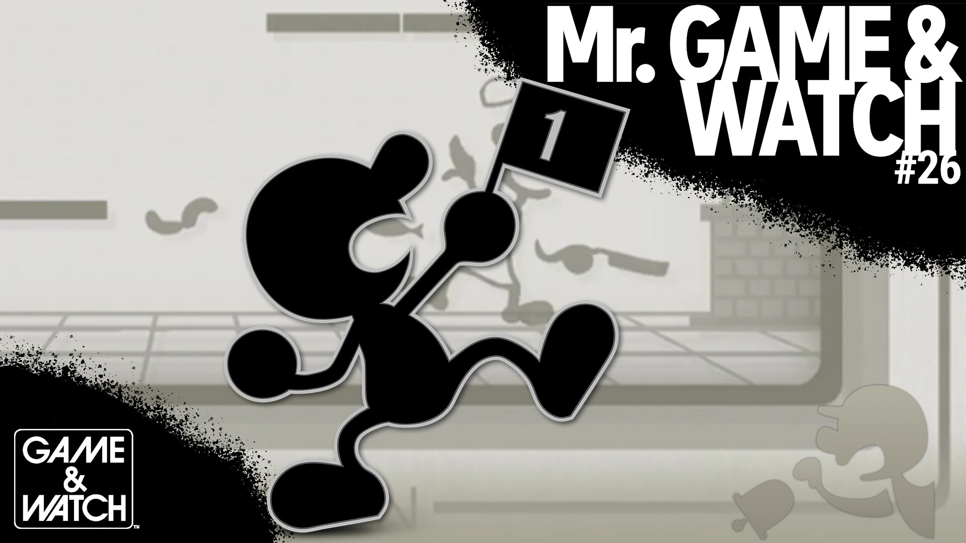 Christian Larson Ssbu Fanmade Wallpaper 26 Mr Game And Watch