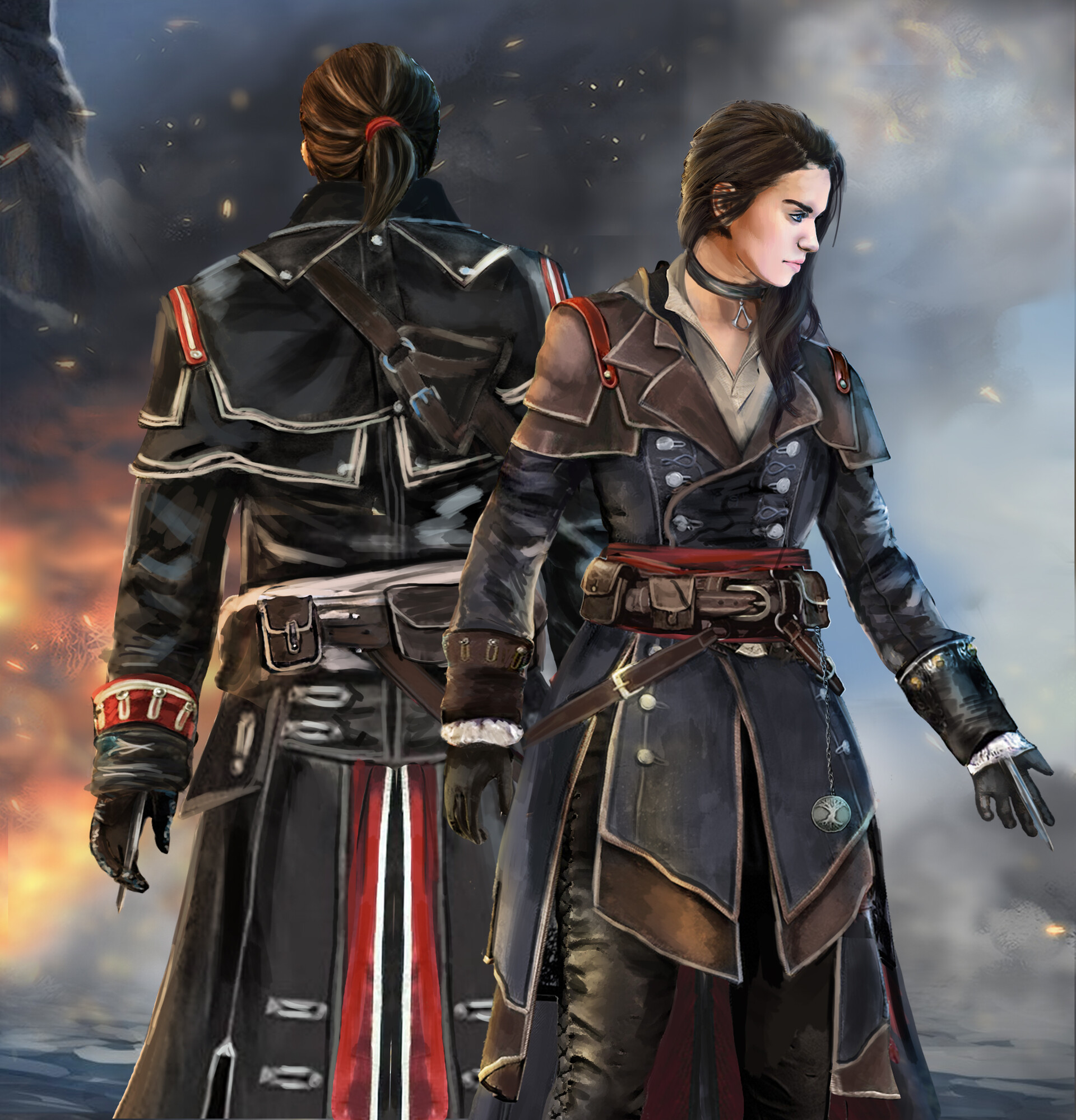 Artstation Assassin S Creed Rogue The Renegade Mel Any