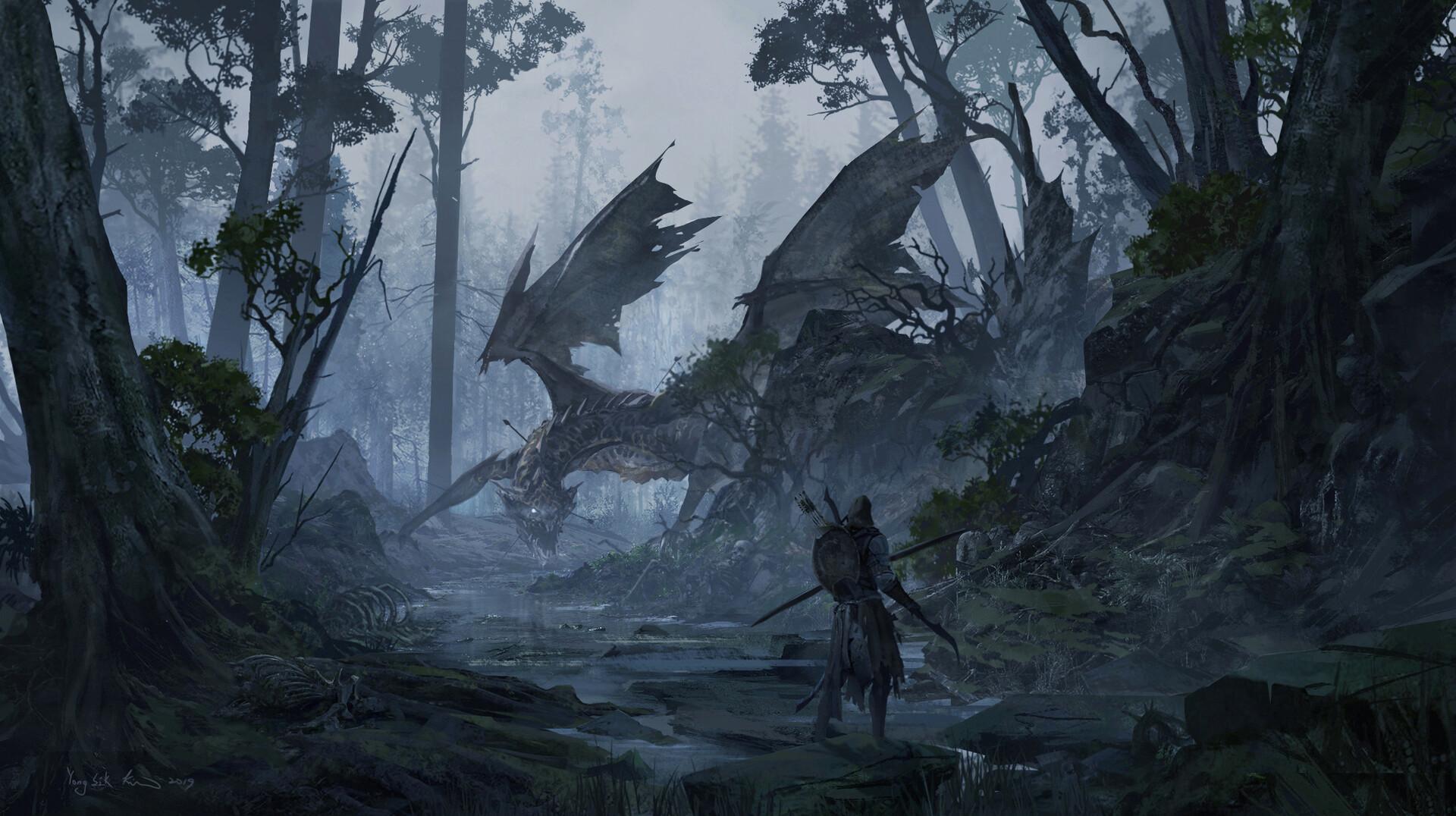 Let's entice a dragon